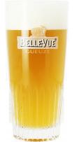 Verre Belle-Vue Gueuze - 25cl - Verre plat strié