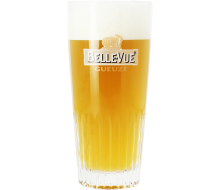 Belle-Vue Gueuze - 25cl Ribbed Stange Glass