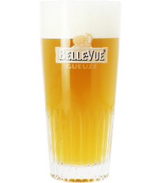 Belle-Vue Gueuze 25cl ribbed glass
