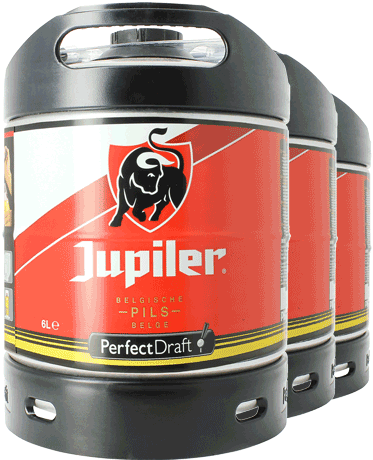 Jupiler Pils PerfectDraft 6-Litro Barril - 3-Pack