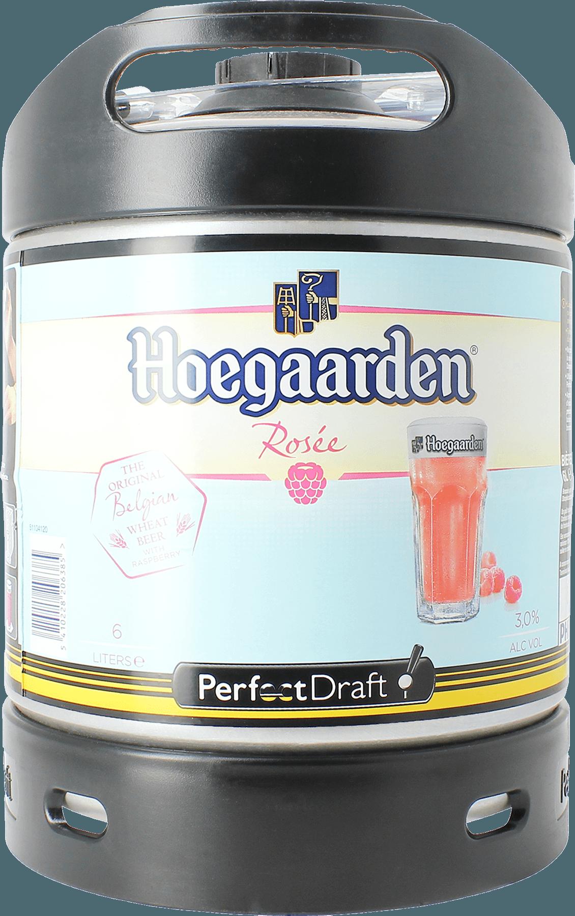 Hoegaarden Rosé PerfectDraft 6-litre Barril