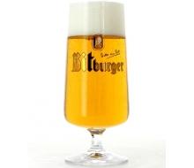 glass Bitburger à pied - 50cl