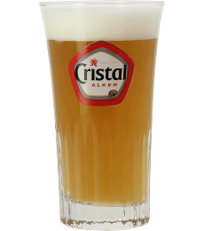 Cristal ribbed stange glass