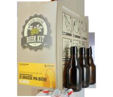 Beer Kit pils avec bouteilles et bouchons mécaniques