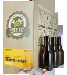 Beer Kit blonde avec bouteilles et bouchons mécaniques
