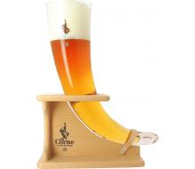 Verre Collection La Corne du Bois Des Pendus + Pied Bois 3L