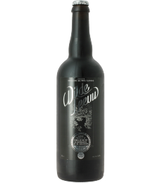 Wilde Leeuw is a triple beer aged in armagnac and bourbon barrels