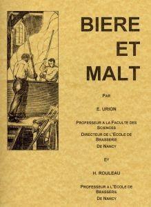 Bière et Malt