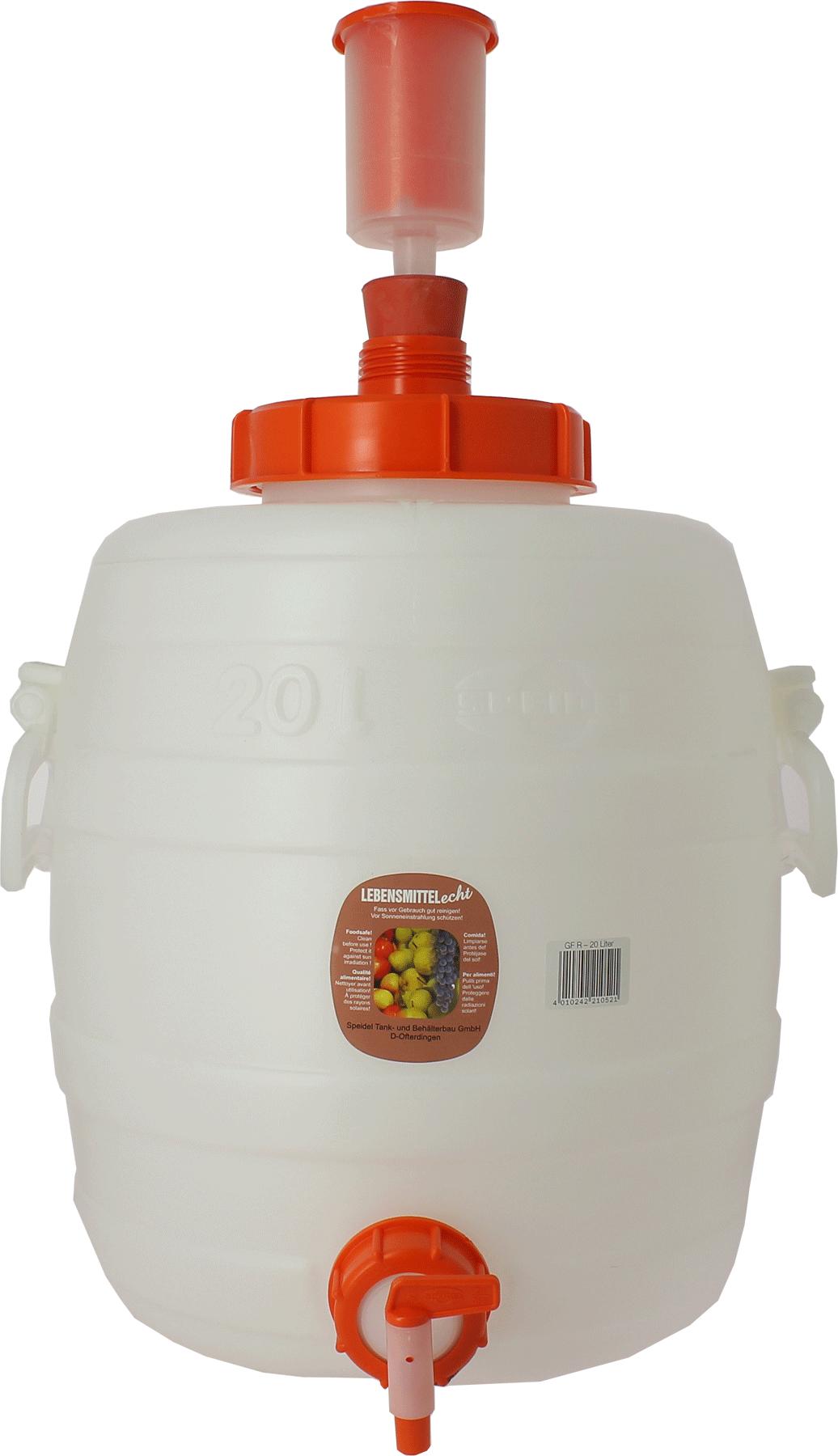 Fût de fermentation de 30 litres complet