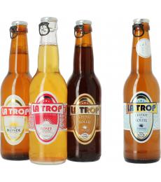 Pack La Trop (3 bières + 1 bière offerte)