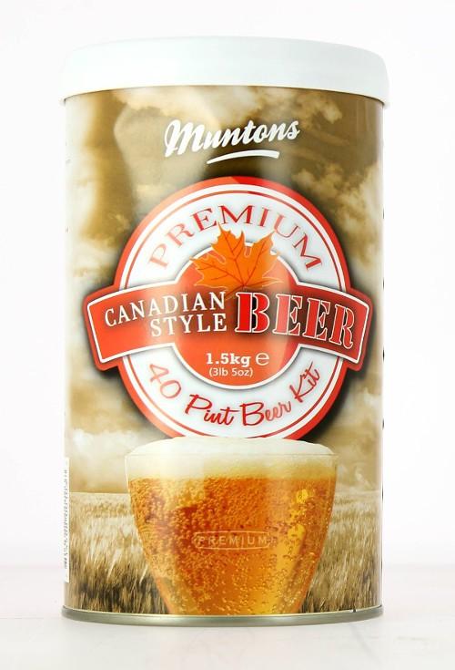 Kit de bière Blonde du Canada Muntons