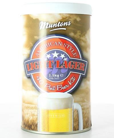 Kit de bière Blonde des Etats-Unis Muntons