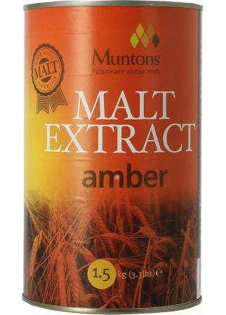 Extrait de malt Muntons liquide ambré 1,5 kg