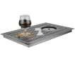 Égouttoir encastrable + rince-verre 480 x 313 mm