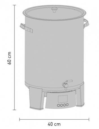 Cuve de brassage Braumeister 20L