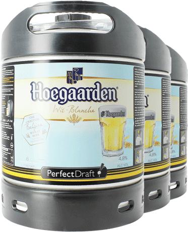 Hoegaarden Blanche PerfectDraft Barril - 3-Pack