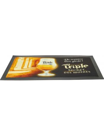 Tapis de Bar Triple Secret des Moines