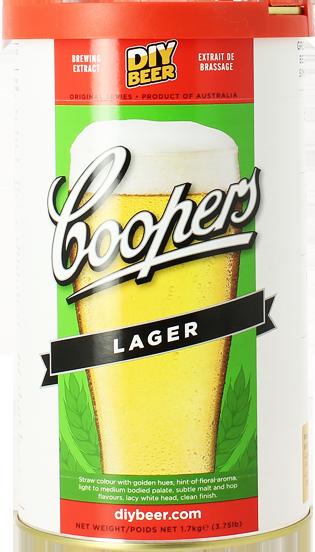 Kit de bière Lager Coopers