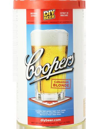 coopers canadian blonde beer kit brew your own beer. Black Bedroom Furniture Sets. Home Design Ideas