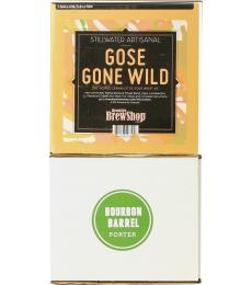 Pack recharge recette Gose Gone Wild + recette Bourbon Barrel Porter