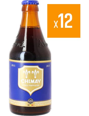 Pack de 12 Chimay Bleue