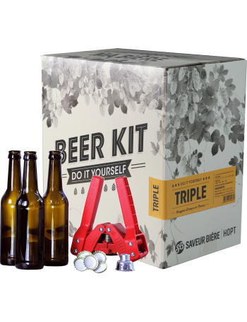 Beer Kit complet, je brasse une triple