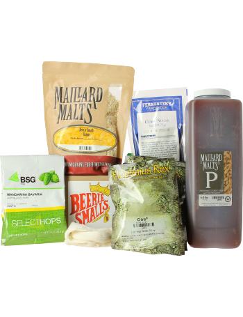 Recette Beerie Smalls New England IPA extrait + grains 5 gal (19L)