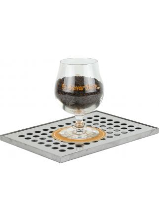 Égouttoir à bière pour comptoir  245 x 170 x 10 mm