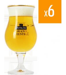 Pack de 6 Verres Hertog Jan Grand Prestige
