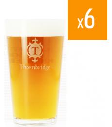 Pack de 6 verres Thornbridge 25cl