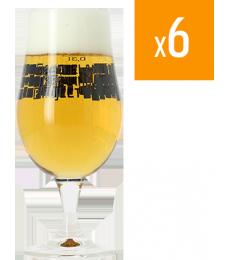 Pack de 6 verres Munique Basqueland Brewing