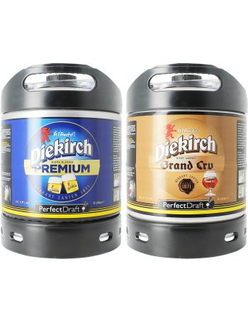 Assortiment 2 fûts 6L Diekirch Premium - Diekirch Grand Cru