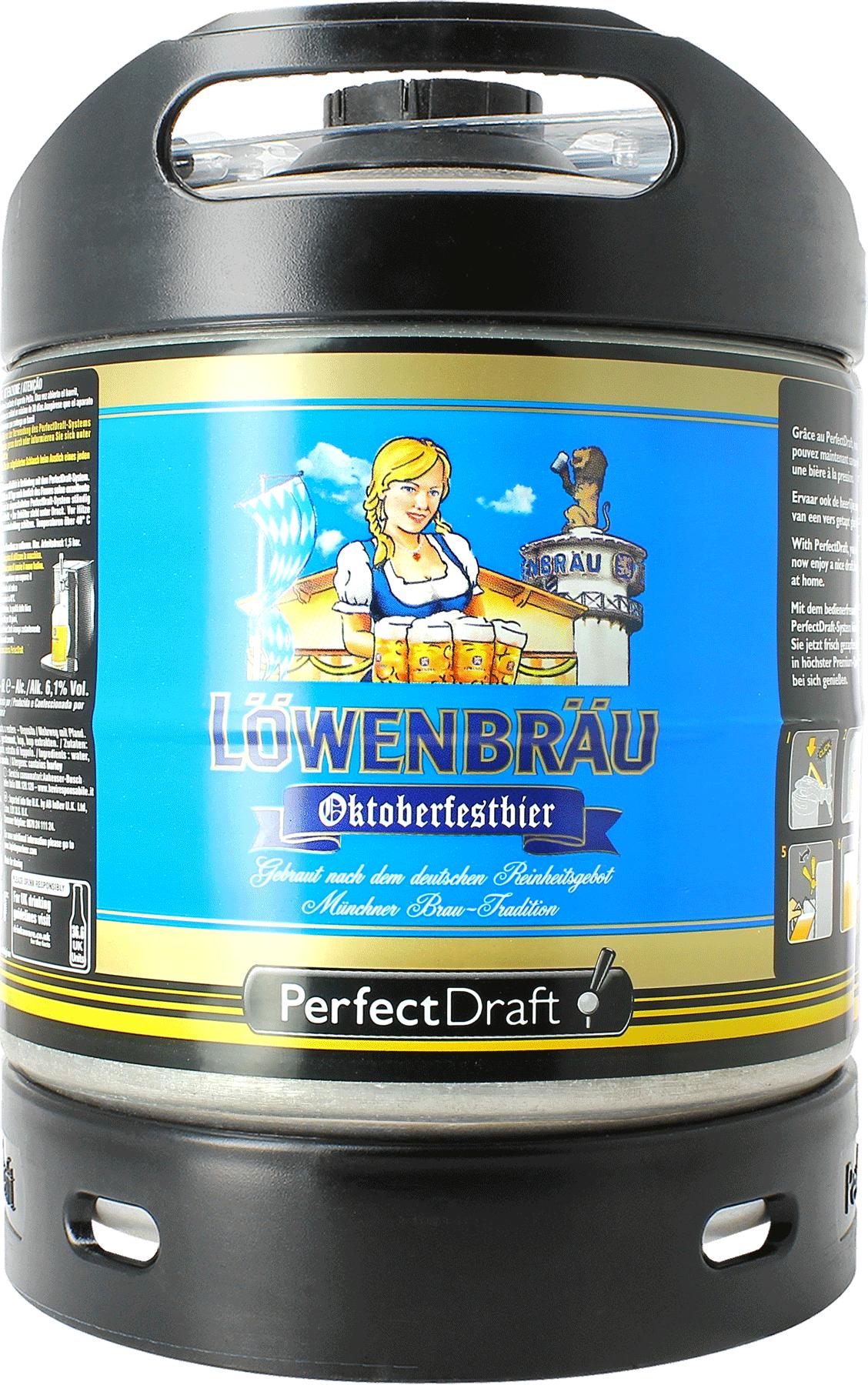 Löwenbräu Oktoberfestbier PerfectDraft 6-litre Barril