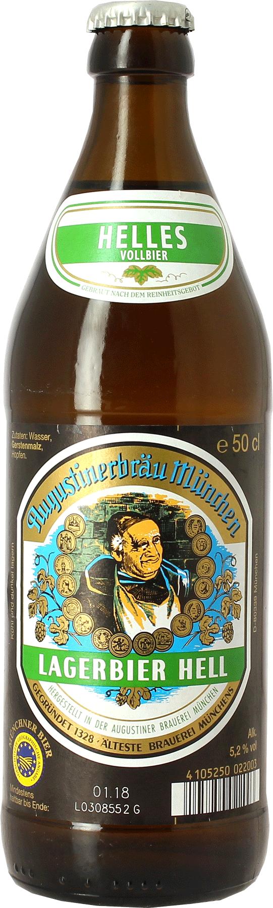 Augustiner Lagerbier Hell - Hopt