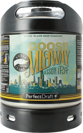 Goose Midway Session IPA PerfectDraft 6-litre Barril