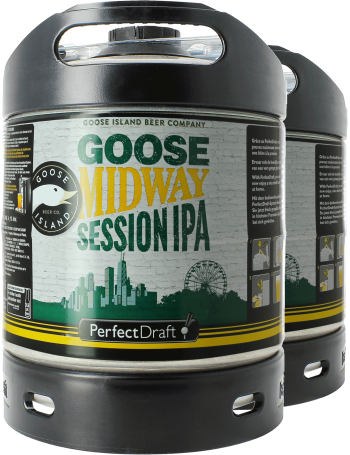 Pack 2 fûts 6L PerfectDraft Goose Midway Session IPA