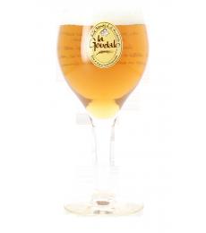 La Goudale beer glass