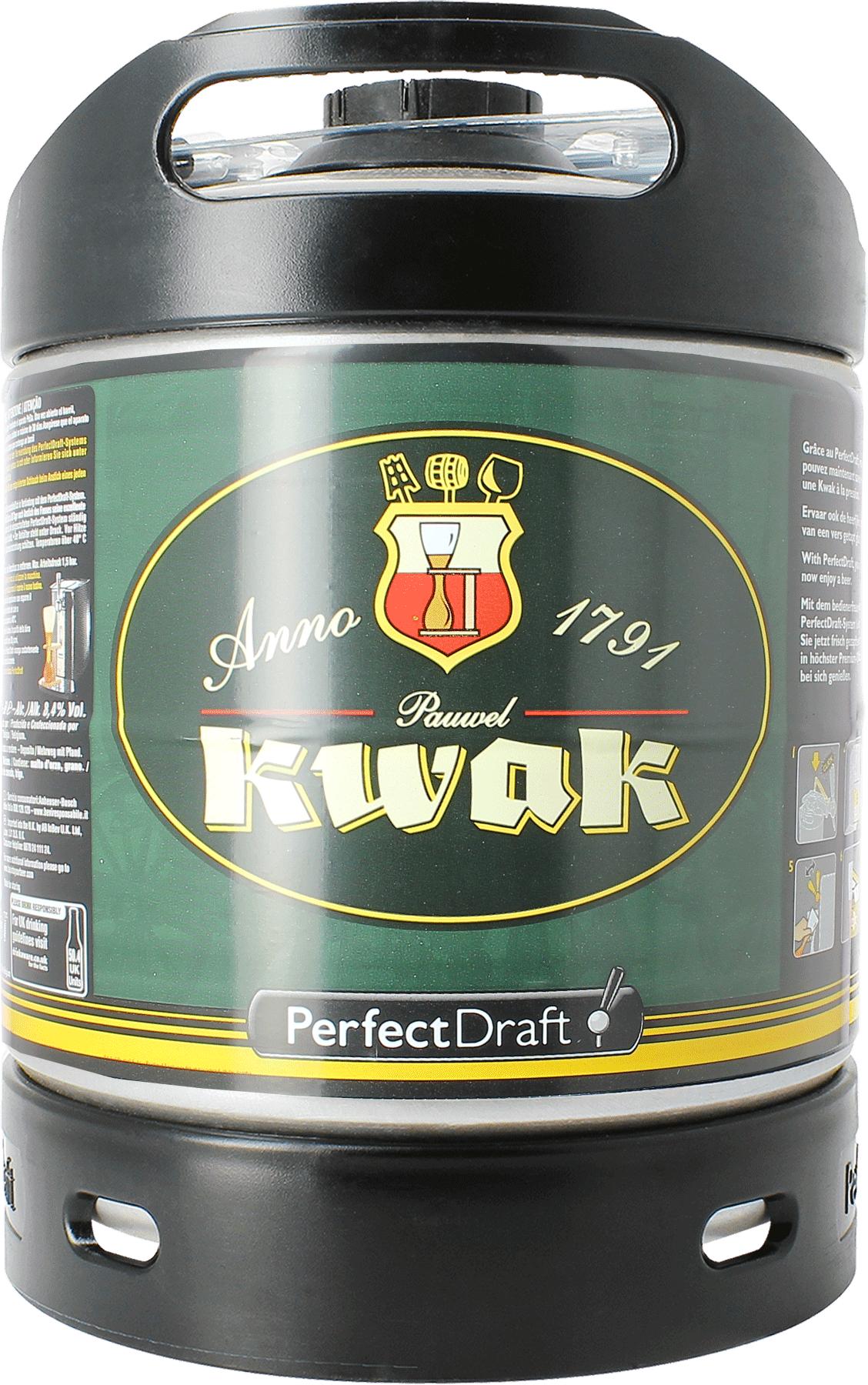 Kwak PerfectDraft 6-litre Barril