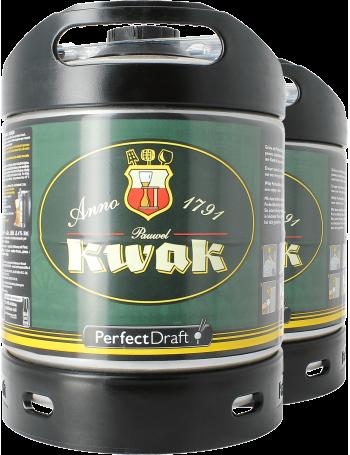 Pack 2 fûts 6L Kwak