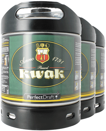 Barril 6 L Kwak PerfectDraft - Pack x3