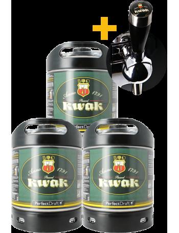 Pack 3 fûts 6L Kwak