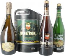 Pack Bosteels : 1 fût, 3 bières 75 cl