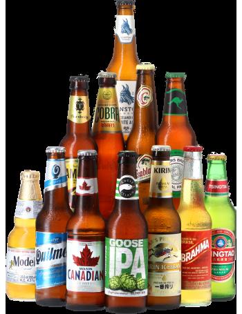 Assortiment Bières du Monde - Cadeau de Noël