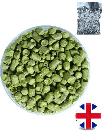 Houblon Fuggle (BE) en pellets - récolte 2018