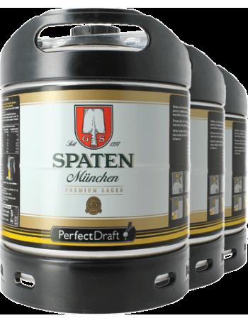 Pack 3 fûts 6L Spaten