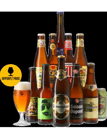 Coffret Bières Blondes