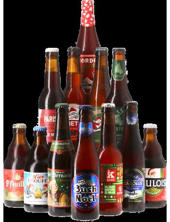 Assortiment Bières de Noël