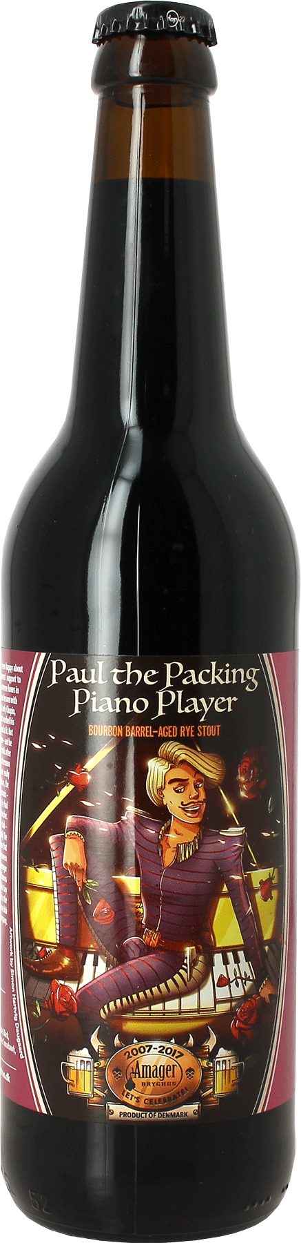 Amager Paul The Packing Piano Player