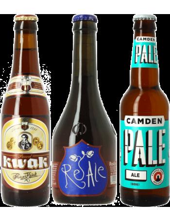 Pack Kwak, Camden Pale Ale, Birra Del Borgo ReAle