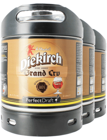 Pack 3 fûts 6L Diekirch Grand Cru